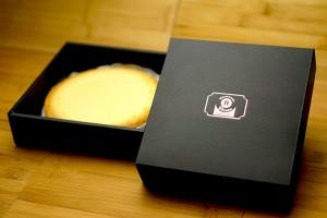 通販ギフトのチーズケーキ