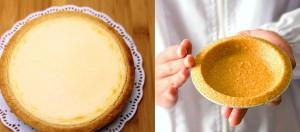 手作りチーズケーキのイメージ